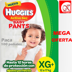 Huggies active sec Talla...
